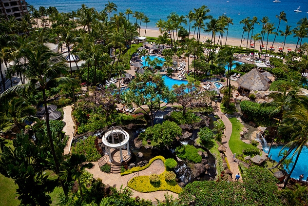 Resorts y hoteles de lujo en Maui, Hawai– Parte 1