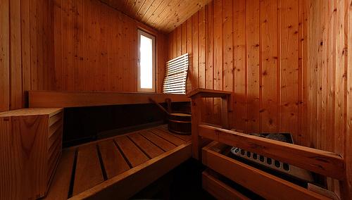 Antes de ir a la sauna visite a su médico