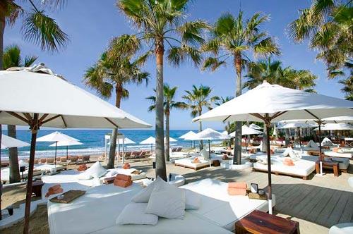 Las playas privadas de la Costa Azul francesa