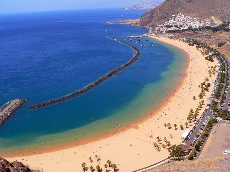 Qué playas visitar en Tenerife