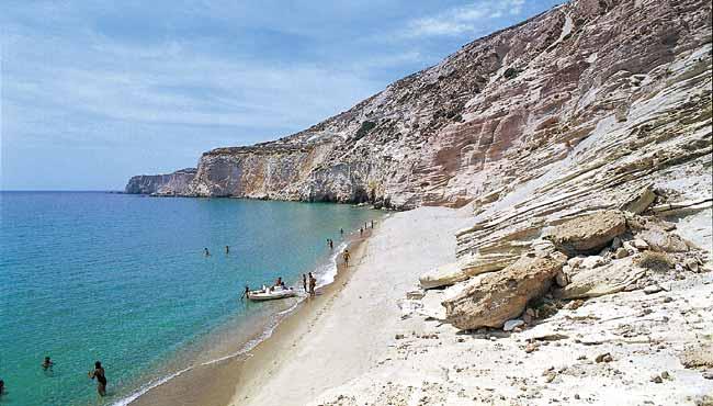 Playa de Gerakas, Grecia. Ideal para ir con niños